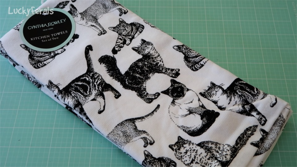 Cynthia Rowley Cat Kitchen Towels