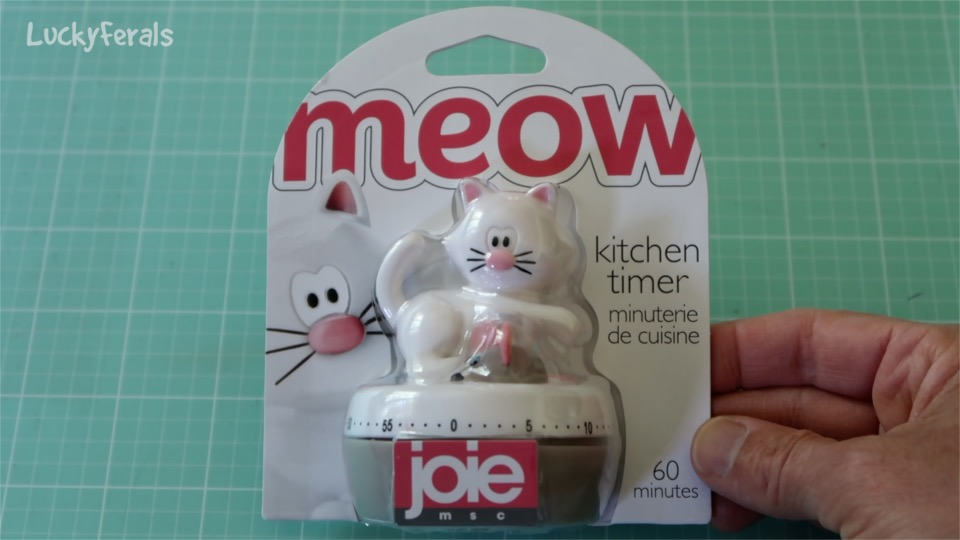 Meow Cat Kitchen Timer