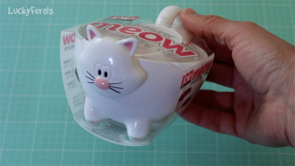 Meow Cat Measuring Cups
