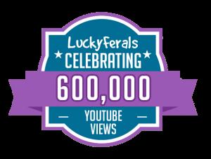 YouTube Views Milestone 600K
