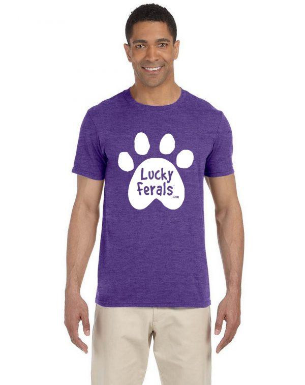 Lucky Ferals Paw Print T-Shirt