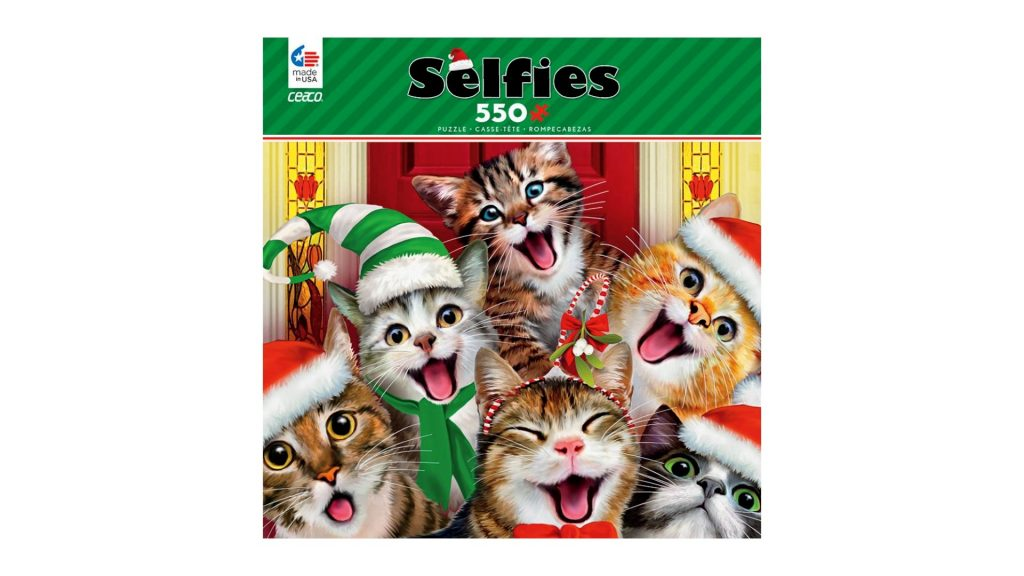 cat selfies jigsaw puzzle