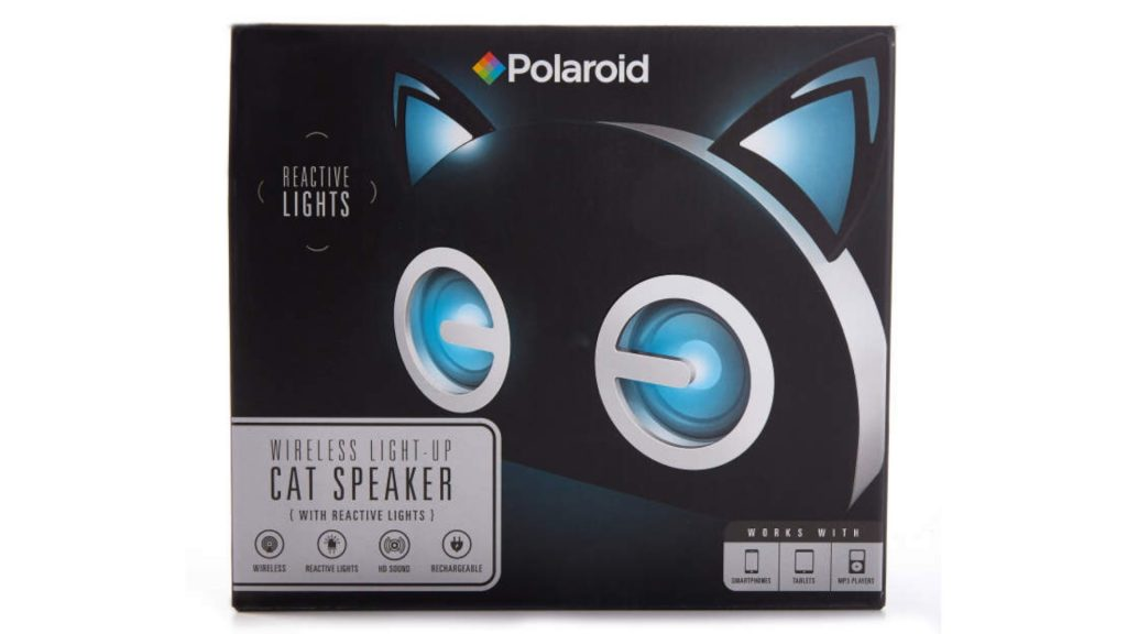 wireless light up cat speaker
