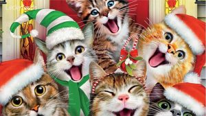Win a Cat Selfies Christmas Jigsaw Puzzle! Day 4 of the 12 Days Of Catmas Giveaways!