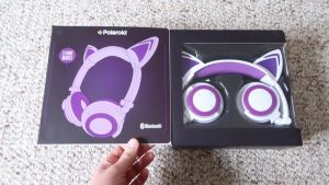 Win A Pair Of Wireless Light Up Cat Ear Headphones! Day 3 of the 12 Days Of Catmas Giveaways!