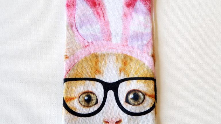 Easter Cat Socks