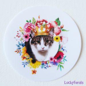 queen stella paper sticker