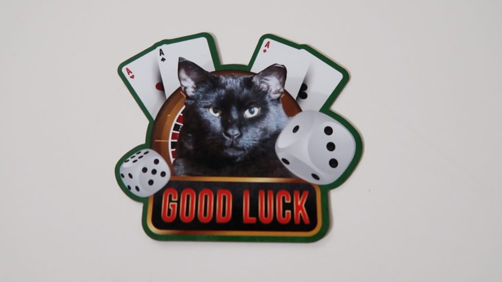 Boo Good Luck Magnet
