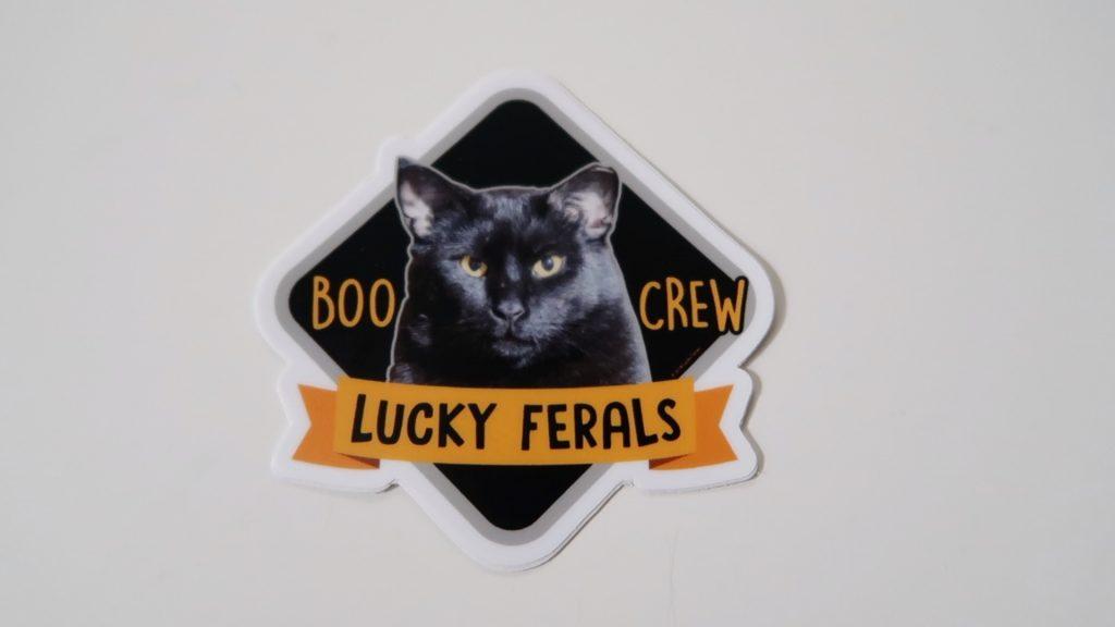 Boo crew sticker