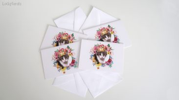 Queen Stella Note Card Set