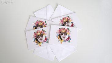 Queen Stella Note Card Set