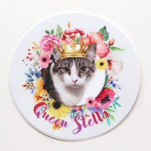 Queen Stella Vinyl Sticker