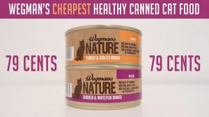 Wegman's Cheapest Healthy Canned Cat Food Review - Wegman's Nature Cat Food