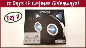 Win a Light Up Bluetooth Cat Speaker! It's Day 8 Of The 12 Days Of Catmas Giveaways!