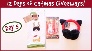 Win A Winter Cat Gift Set! It's Day 5 of the 12 Days of Catmas Giveaways!