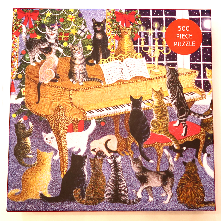christmas chorus jigsaw puzzle