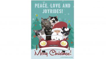 Peace Love And Joyrides Christmas