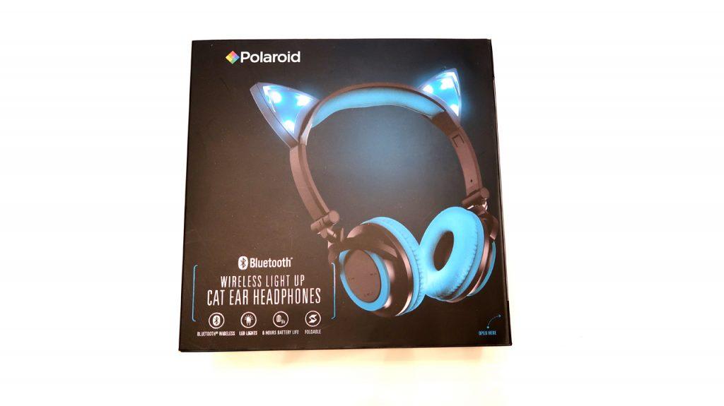 Polaroid Cat Ear Headphones
