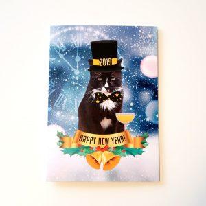 Hydrox New Years Card