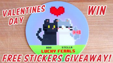 LF Free Stickers Giveaway