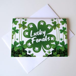 Four Leaf Clover Note Card